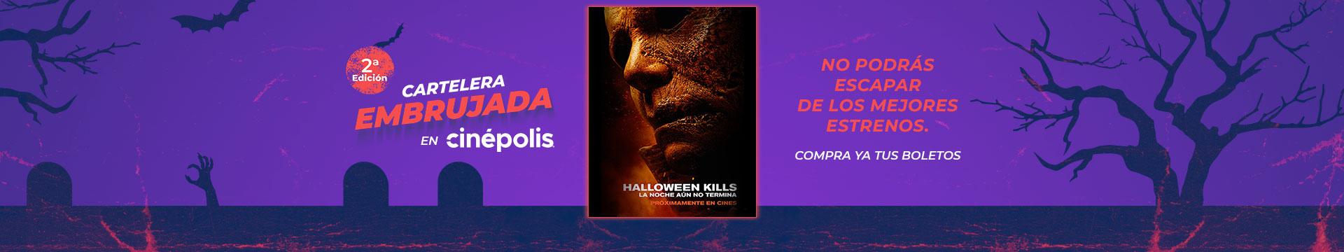 Estreno  Halloween Kills Cartelera Embrujada