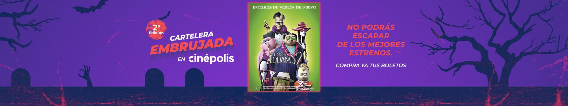 Estreno Los Locos Addams 2 Cartelera Embrujada