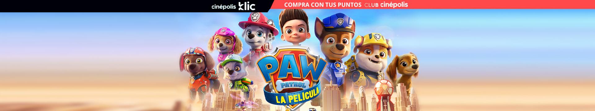 Klic Paw Patrol La Pelicula