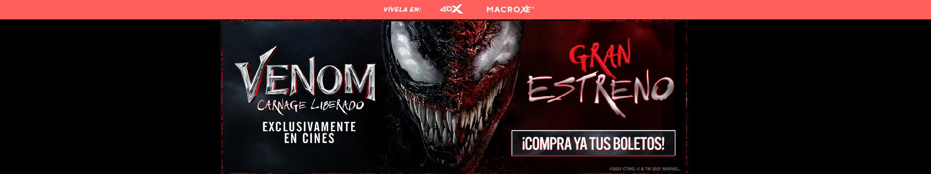 Estreno: Venom Carnage Liberado