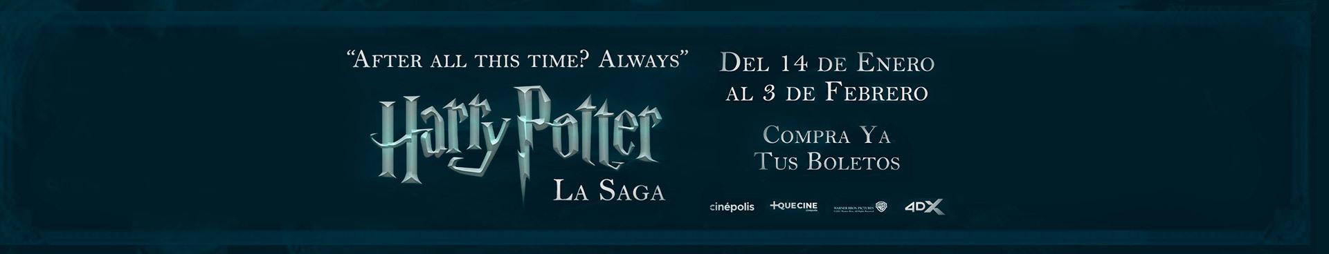 Estreno: Maratón Harry Potter