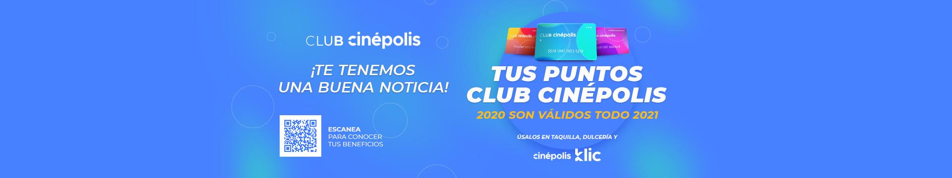 Vigencia de Puntos Club Cinépolis