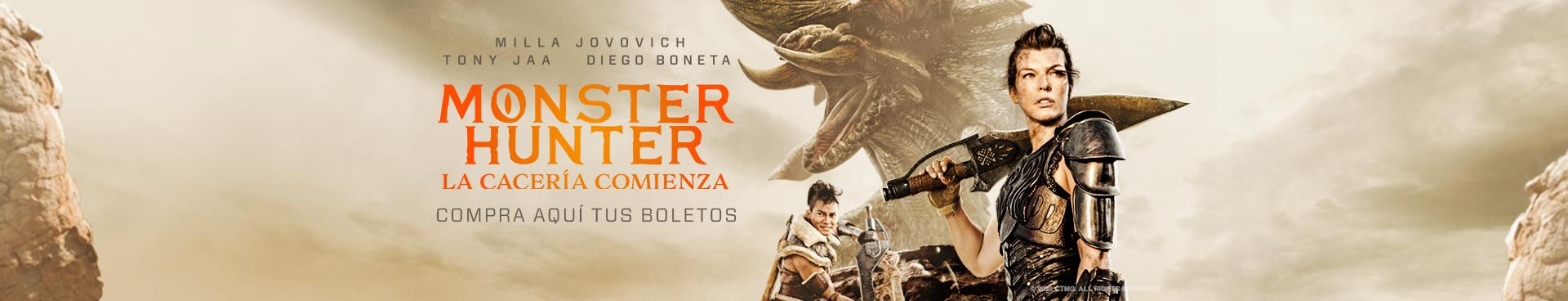 En Cartelera: Monster Hunter La Cacería Comienza