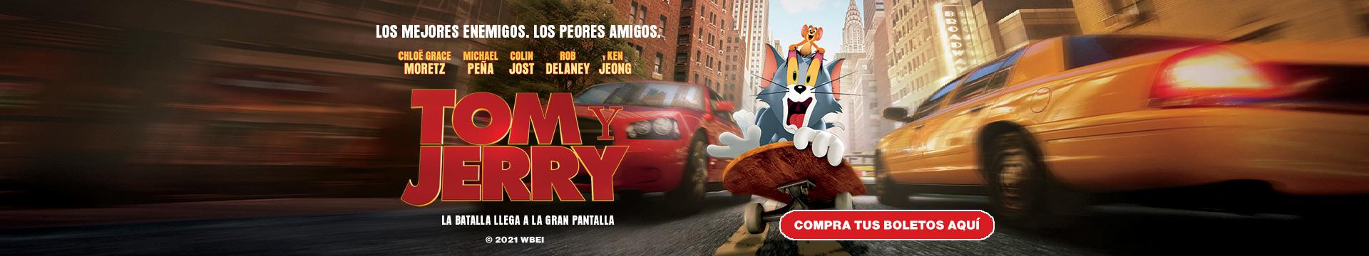 En Cartelera: Tom y Jerry