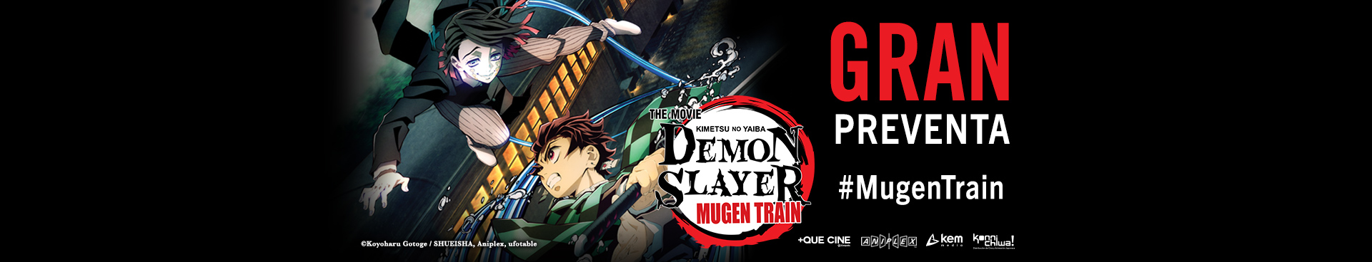 Preventa: Demon Slayer Mugen Train