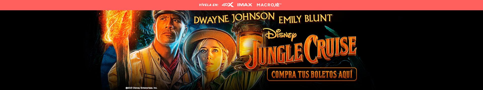 Estreno Jungle Cruise