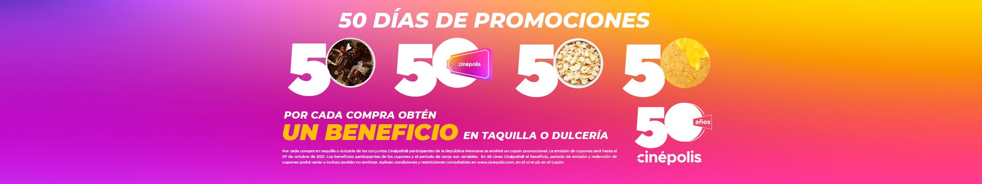 Promocion 50 Años Master