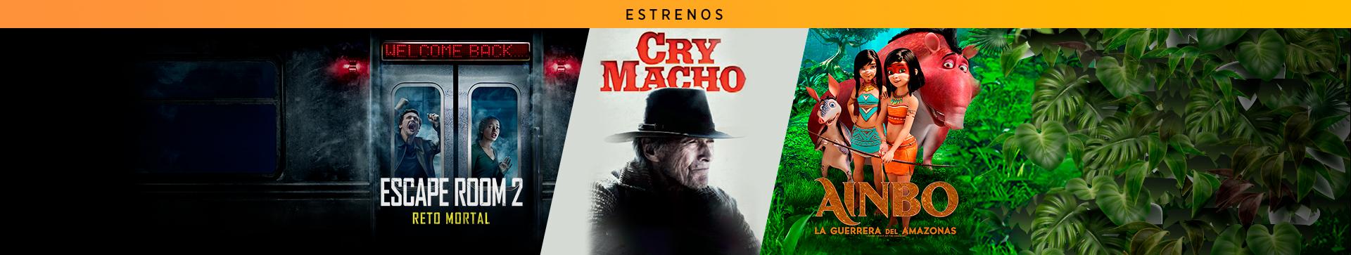 Estrenos: Escape Room 2 / Cry Macho / Ainbo