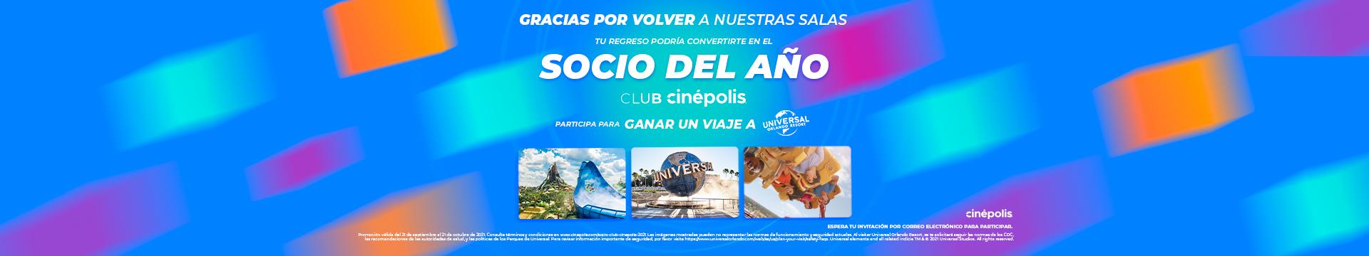 Promocion Club Cinépolis Socioas del Año