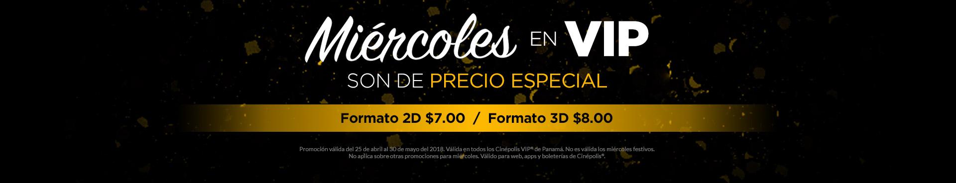 Precio especial VIP