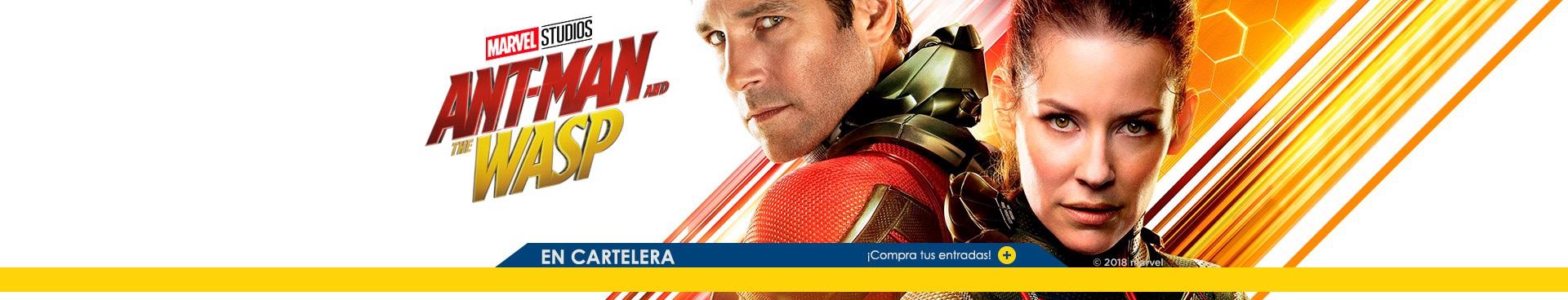 Estreno Ant-man & the wasp