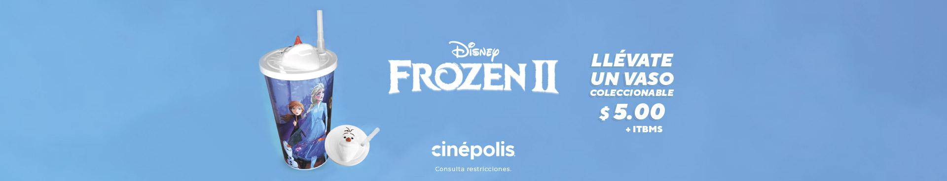 Pomo Vaso Frozen 2