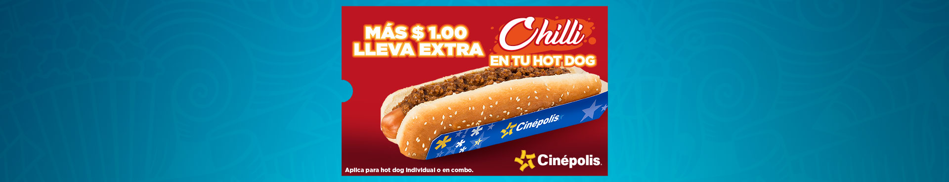 Chilli en tu Hot Dog