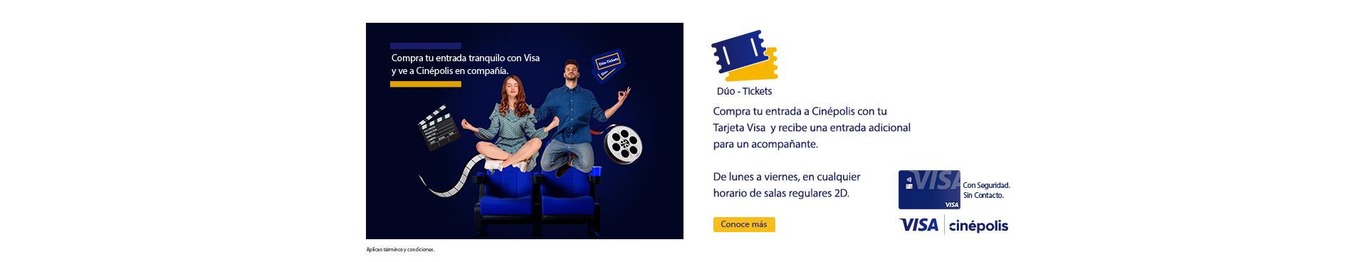 Visa Dúo Ticket