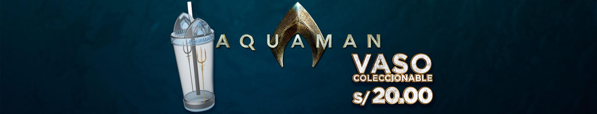 Promoción Aquaman