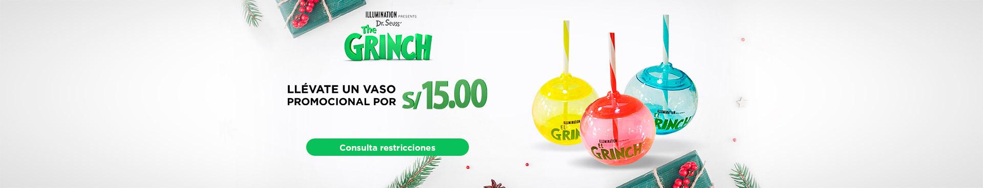 Promoción el grinch