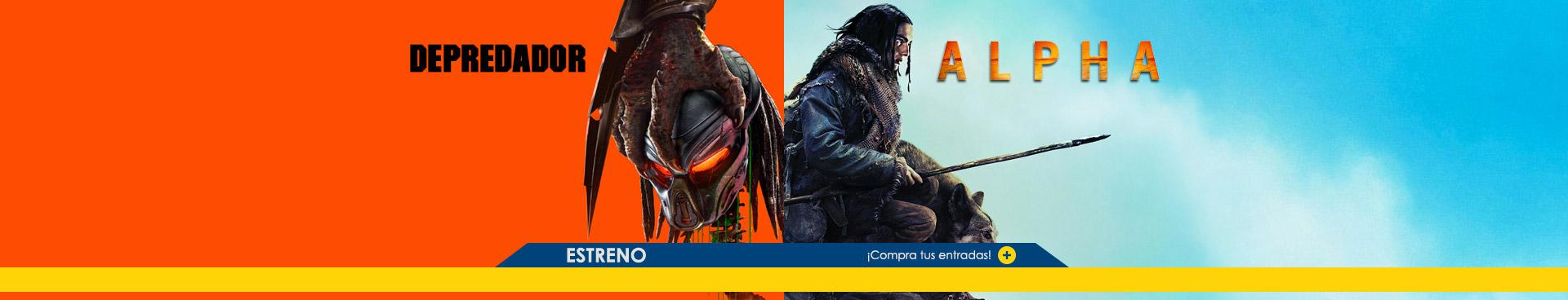 estreno Depredador + Alfa