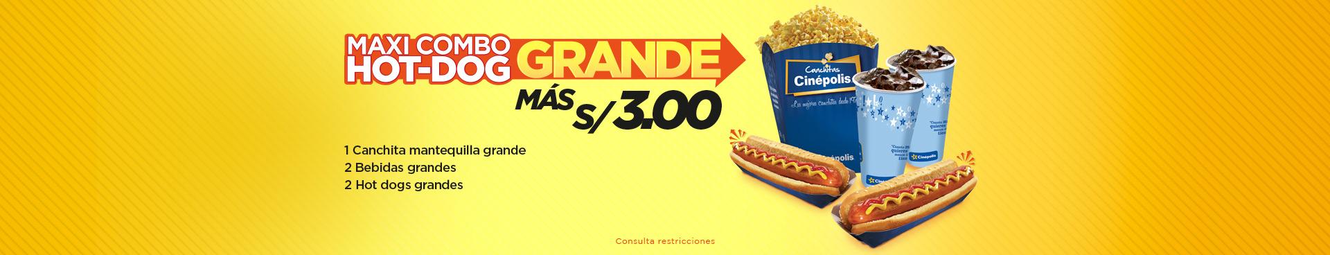Maxi Combo Hot-Dog