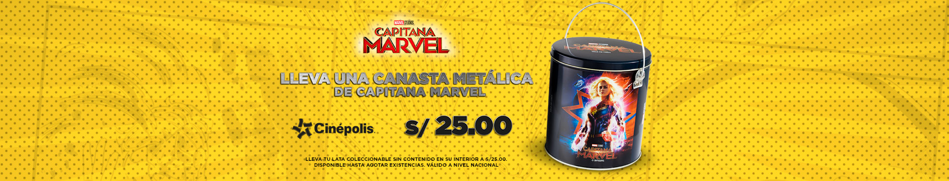 Promo Capitana Marvel