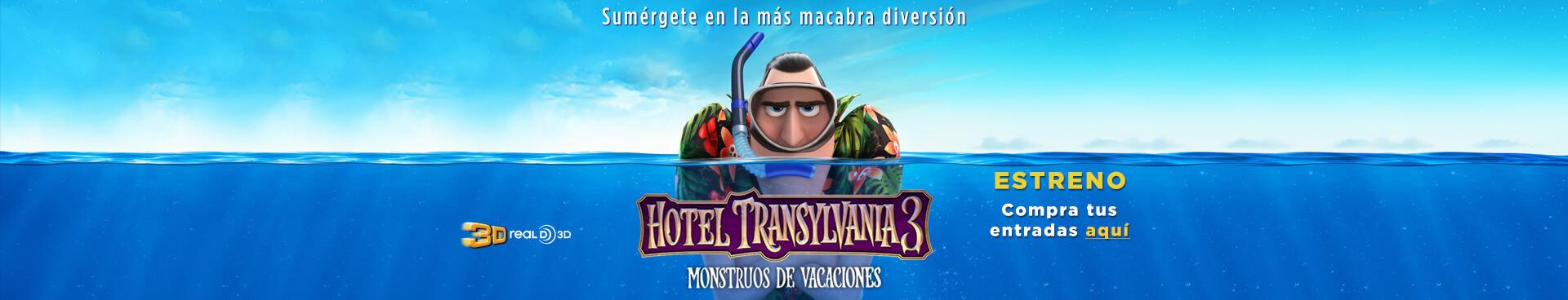 Estreno Hotel Transylvania 3