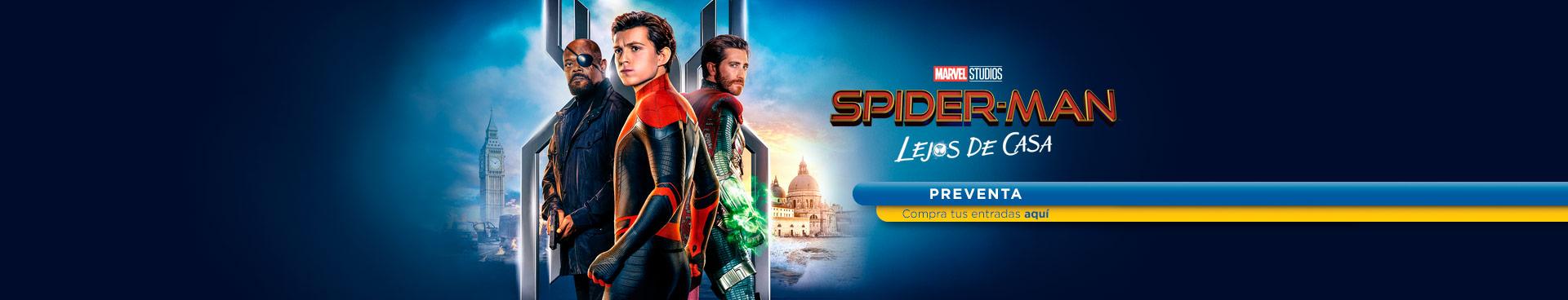 Preventa Spiderman: Lejos de casa