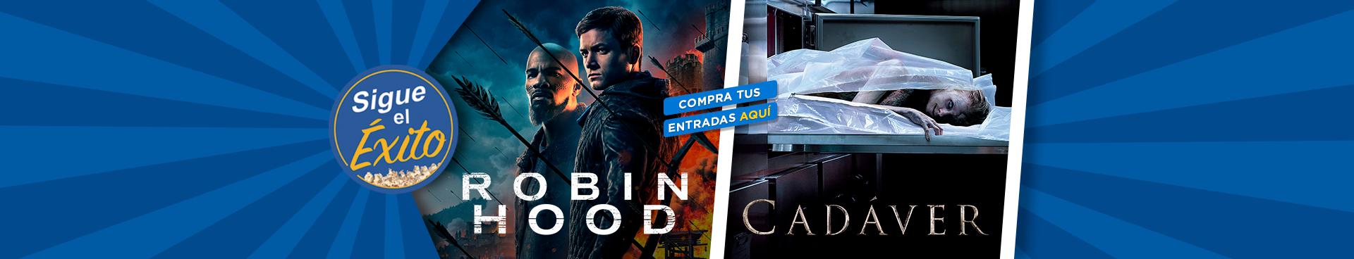 SIGUE EL ÉXITO: ROBIN HOOD + CADAVER, COMPRA TUS ENTRADAS AQUÍ