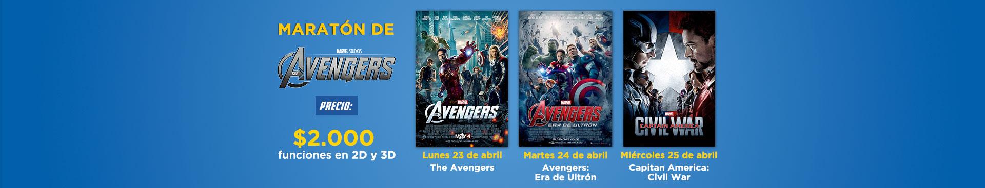 Marat}on avengers