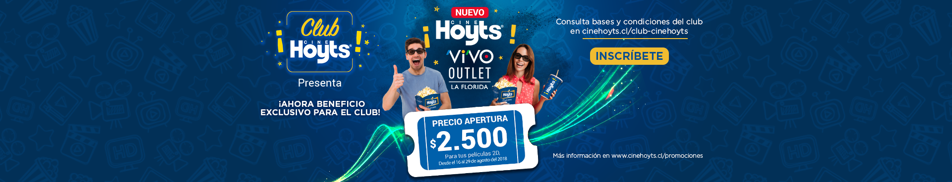 Club CineHoyts Vivo la Florida
