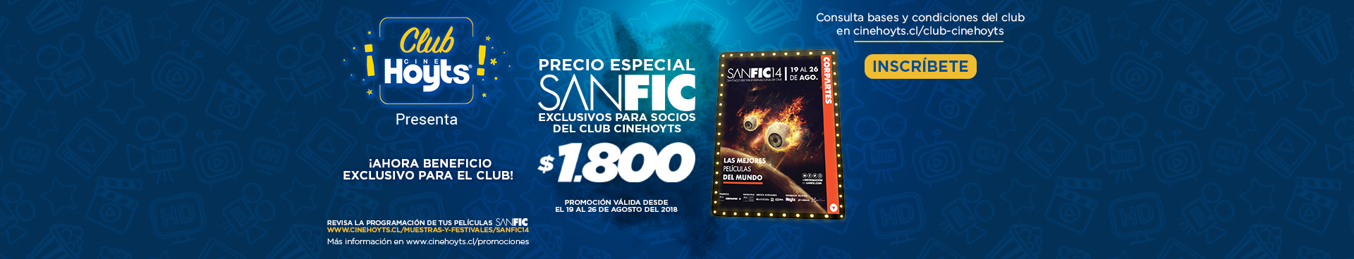 Club CineHoyts Sanfic