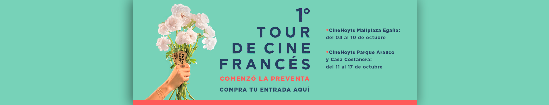 TOUR DE CINE FRANCES