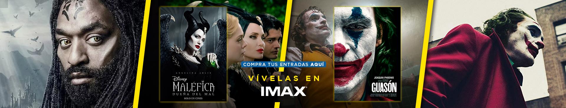 VIVELAS EN IMAX: MALEFICA: DUEÑA DEL MAL  + GUASÓN, COMPRA AQUÍ TU ENTRADA