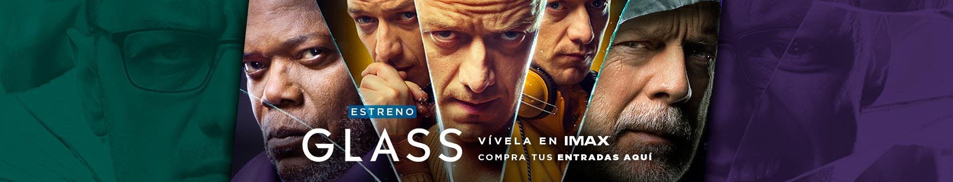 ESTRENO GLASS, VÍVELA EN IMAX, COMPRA TU ENTRADAS AQUÍ