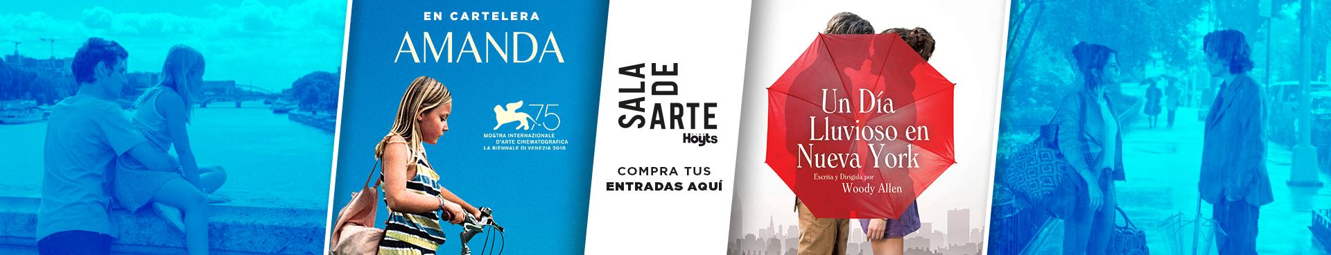 """""""SALA DE ARTE: UN DÍA LLUVIOSO EN NUEVA YORK + EN CARTELERA: AMANDA, COMPRA TUS ENTRADAS AQUÍ"""
