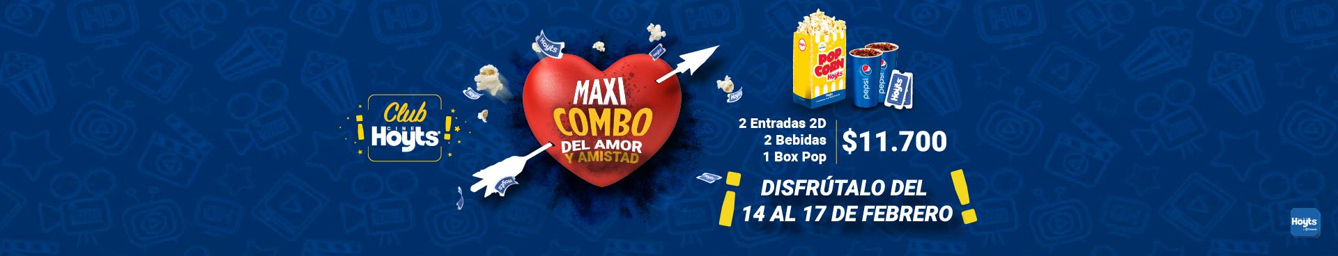 PROMOCIÓN MAXICOMBO DEL AMOR Y LA AMISTAD