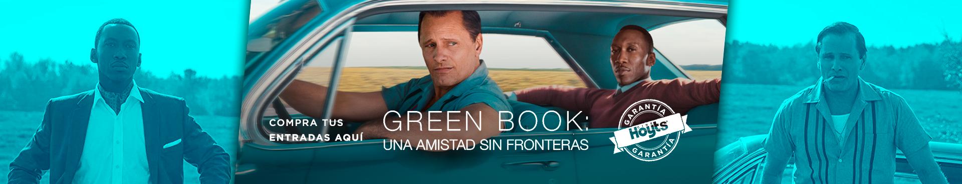GREEN BOOK - GARANTÍA CINEHOYTS, COMPRA TUS ENTRADAS AQUÍ