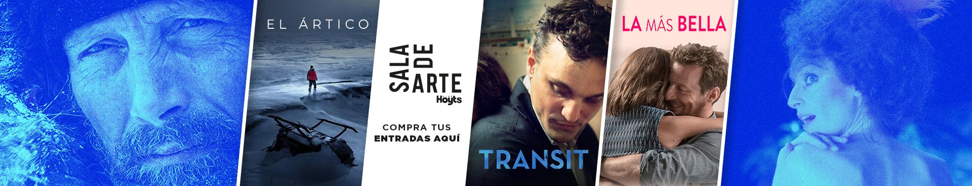 SALA DE ARTE:  EL ARTICO + TRANSIT + LA MÁS BELLA, COMPRA TU ENTRADAS AQUÍ
