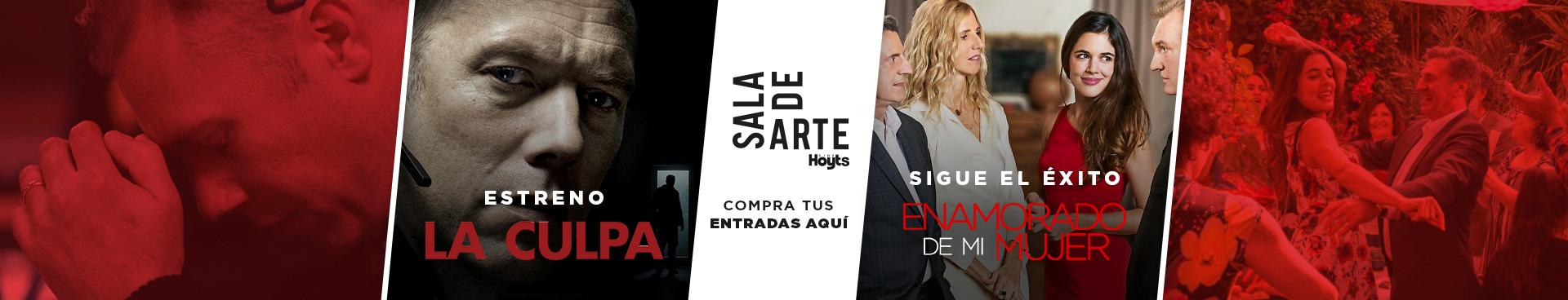 SALA DE ARTE: ESTRENO LA CULPA // SIGUE EL ÉXITO: ENEMORADO DE MI MUJER