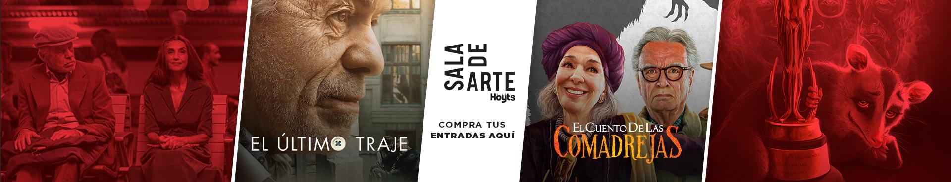 SALA DE ARTE  EL ÚLTIMO TRAJE + EL CUENTO DE LAS COMADREJAS , COMPRA TU ENTRADAS AQUÍ