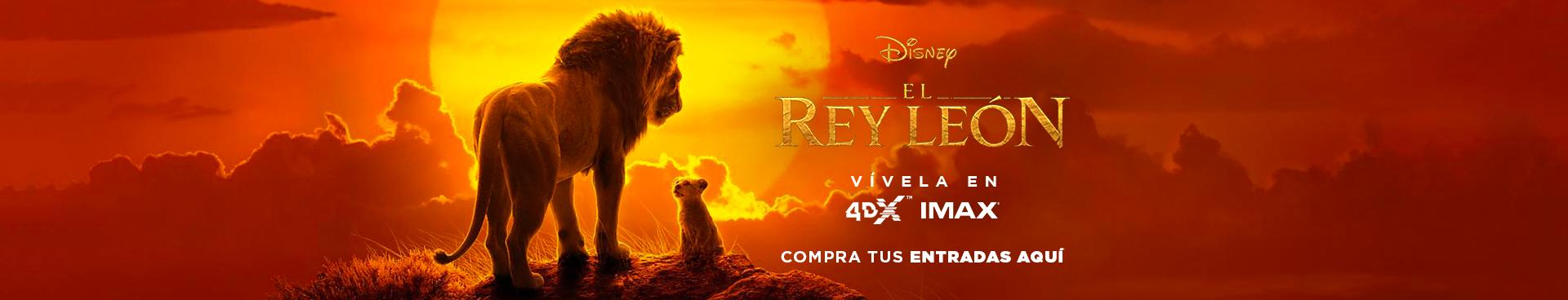 EL REY LEÓN, VIVELA EN IMAX Y 4DX, COMPRA TUS ENTRADAS AQUÍ