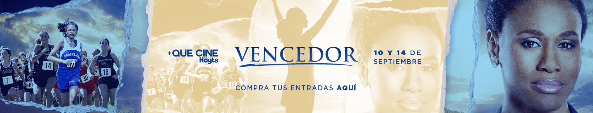 PREVENTA +QUE CINE: VENCEDOR, MARTES 10 Y SÁBADO 14 DE SEPTIEMBRE