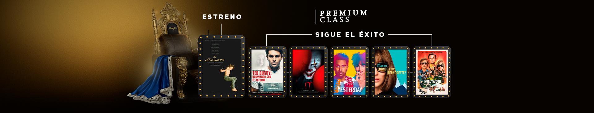 PREMIUM CLASS: EL JILGUERO // CARTELERA:  ESTRENO TED BUNDY + IT CAPITULO 2 + YESTERDAY + DÓNDE ESTÁS BERNADETTE + HABIA UNA VEZ EN HOLLYWOOD