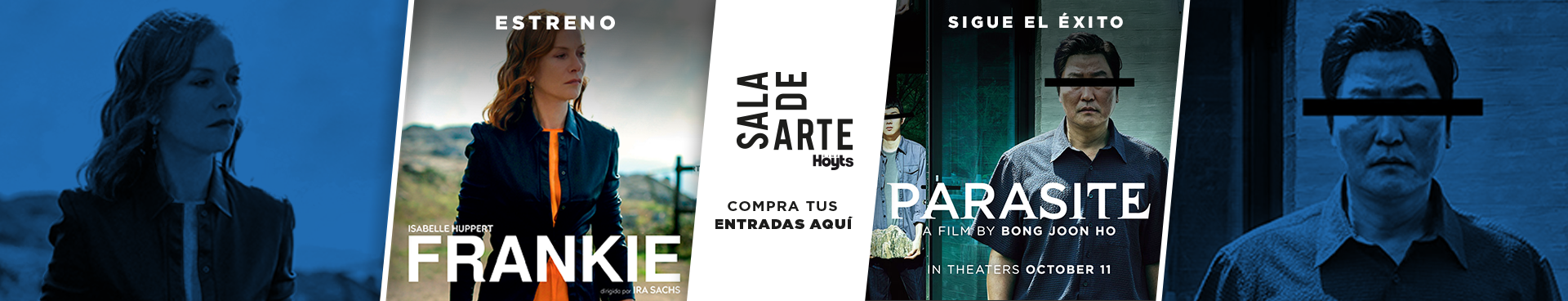 SALA DE ARTE: ESTRENO FRANKIE + SIGUE EL EXITO PARASITE, COMPRA TUS ENTRADAS AQUÍ