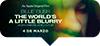 BILLIE EILISH:THE WORLDS A LITTLE BLURRY