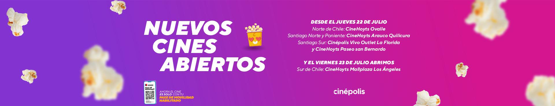 Cines abiertos