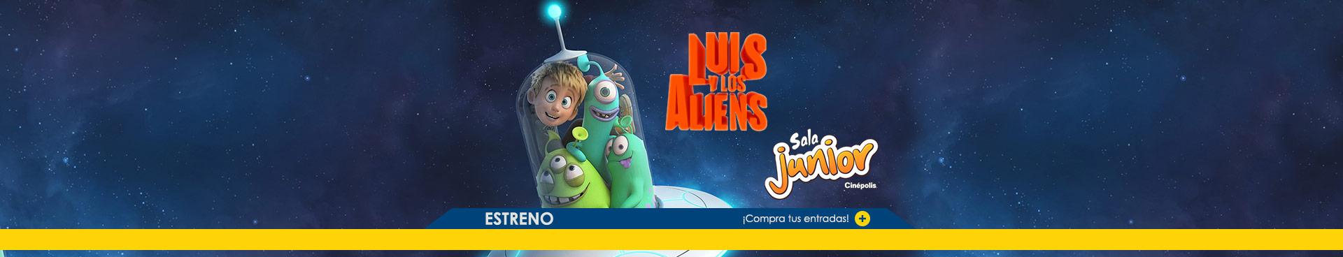 Estreno Luis y los aliens