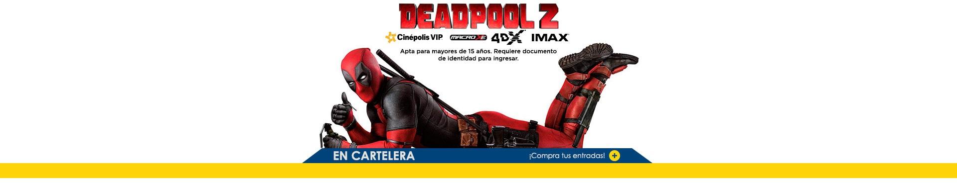 Estreno Deadpool 2