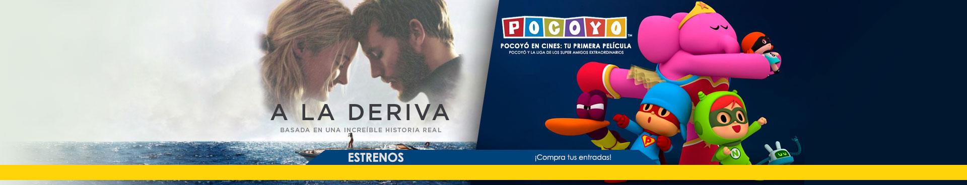 En cartelera a la deriva + Pocoyo
