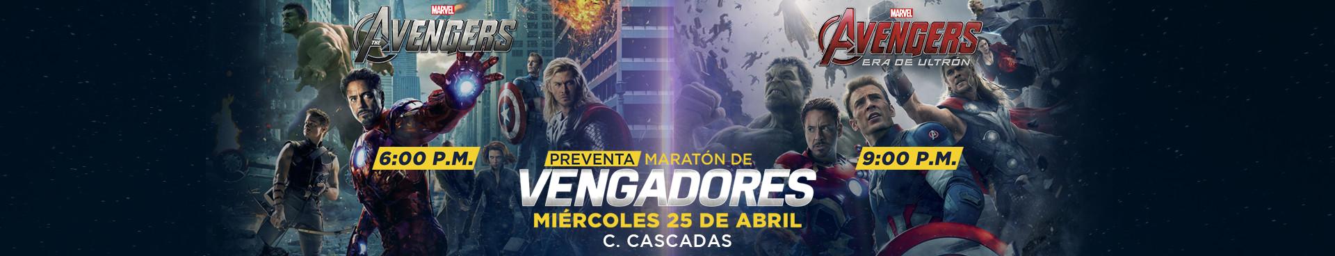 Preventa Maraton Avengers