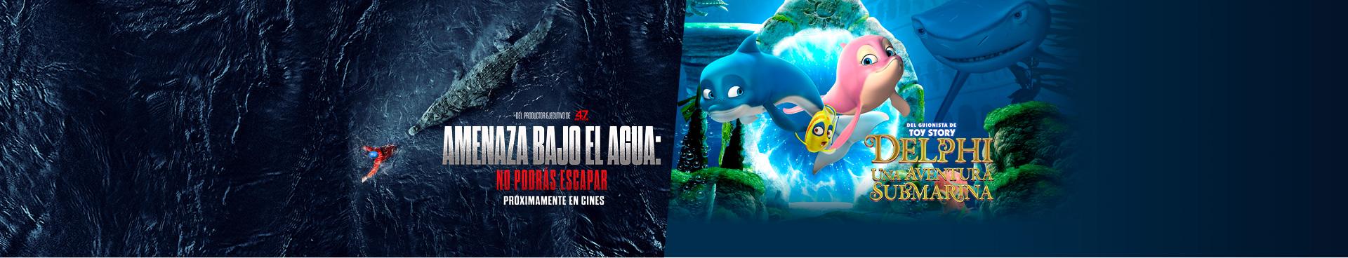 Amenaza bajo el agua / Delphi: Un aventura Submarina