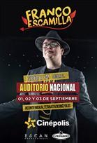 Franco Escamilla: Show y ya! Desde el Auditorio | +Que Cine